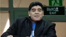 Legendární Diego Maradona