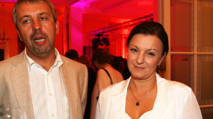 Petra Pyšová-Schmalzová s manželem Vladimírem