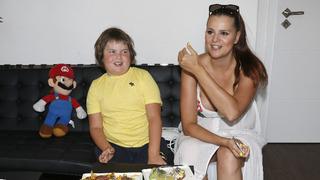 Ornella s synem Quentinem