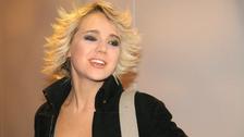 Zpěvačka Lucie Vondráčková s hodně stylovým účesem