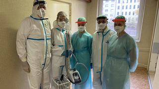 Nemocnice v Brně by si přála zakoupit dva přístroje HFNO, které pomáhají v boji s covidem