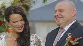 Manželé Štěpánka a Pavel tvoří i po svatební show šťastný pár