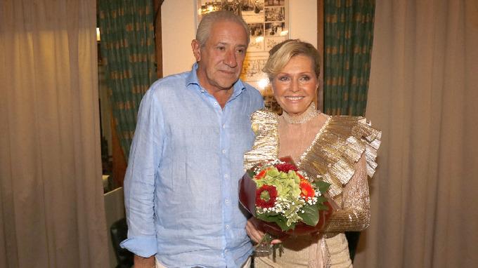 Martin Michal s manželkou Helenou Vondráčkovou