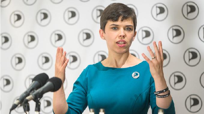 Pirátská poslankyně Olga Richterová