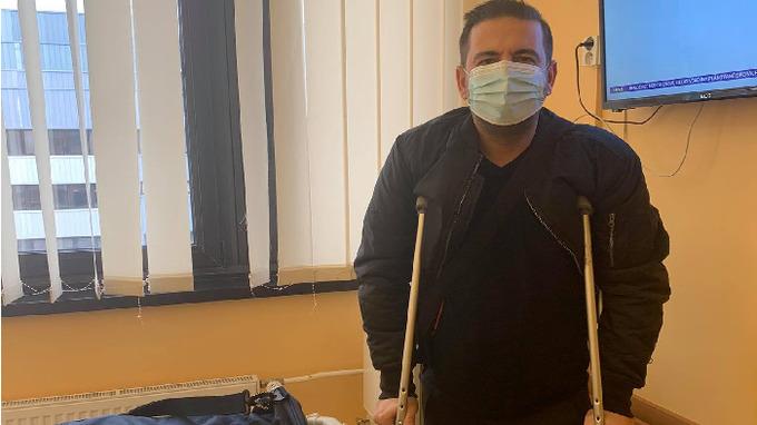 Radka Kašpárka propustili z nemocnice