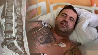 Radek Kašpárek prodělal dvouhodinovou operaci