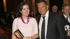 Jiří Paroubek s partnerkou Gabrielou