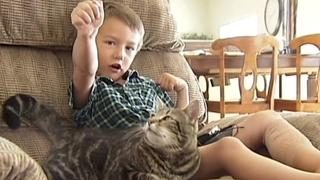 Kočka Tara zachránila tehdy 4letého chlapce. Dnes je mu 10 let