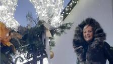 Helena Vondráčková si nádherně vyzdobila dům na Vánoce