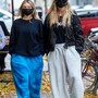 EXCLUSIVE: Heidi Klum Wears Jogging Pants While Taking Daughter Leni Shopping In Berlin