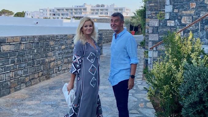 Monika Babišová s manželem Andrejem Babišem