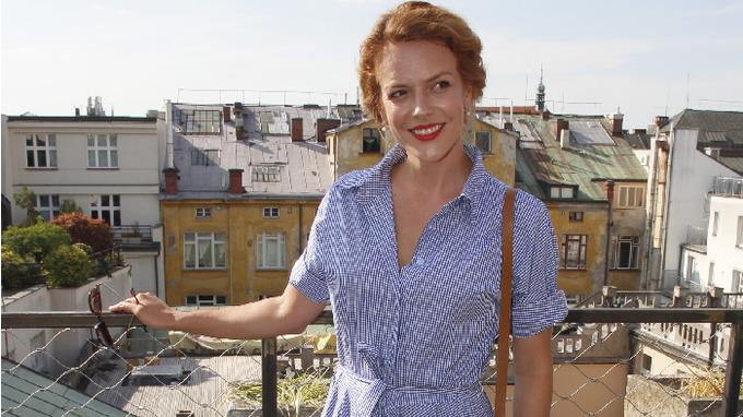 Herečka Andrea Růžičková