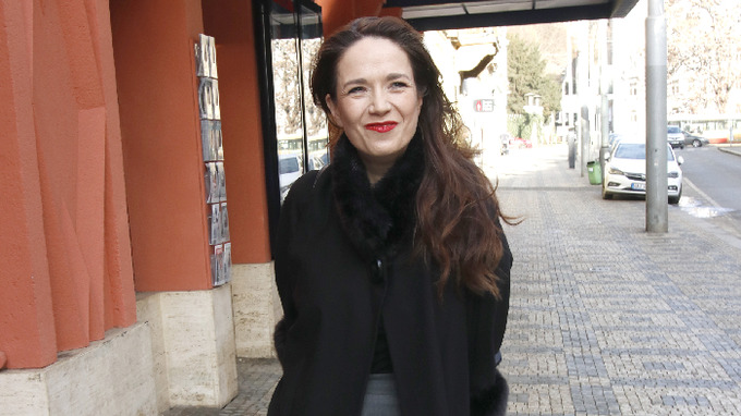 Herečka a moderátorka Tereza Kostková