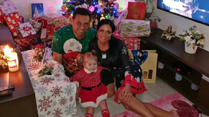Maruška s manželem a dcerou se těší na Vánoce