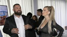 Karlos Vémola s parnerkou Lelou Ceterovou