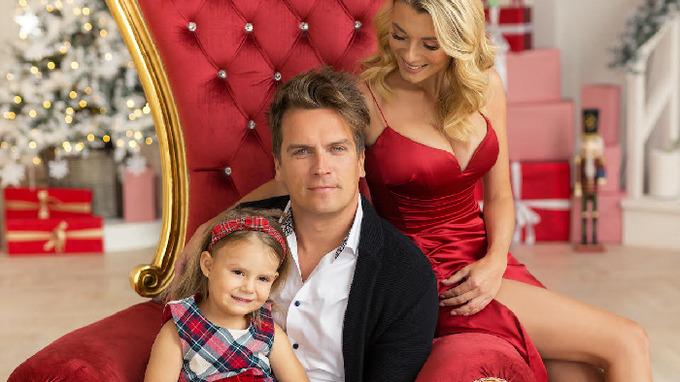 Julián s partnerkou Bárou a její dcerou