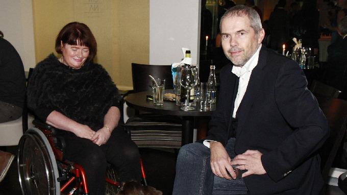 Marek Eben se svou milovanou manželkou