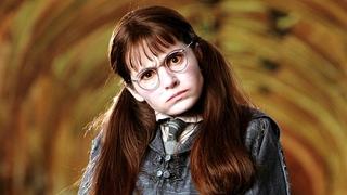 Shirley Henderson si zahrála 14letého ducha v Harry Potterovi