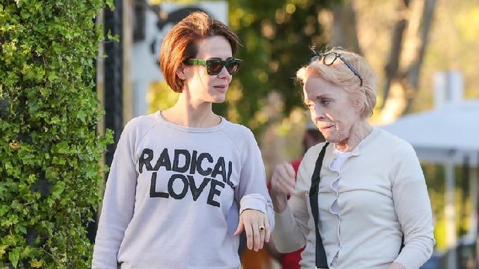 Herečky a partnerky Sarah Paulson a Holland Taylor