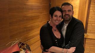Andrea Kašpárková s manželem Radkem