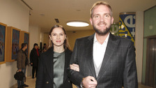 Moderátor Libor Bouček s manželkou Gabrielou