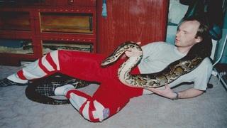Chovatel hadů Karel Zavadil
