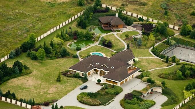 Luxusní sídlo Františka Mrázka