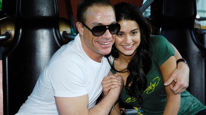 Jean Claude van Damme s dcerou