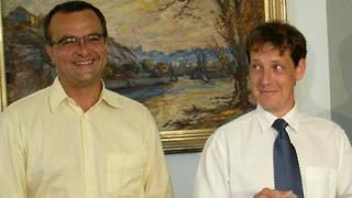 Miroslav Kalousek a Stanislav Gross