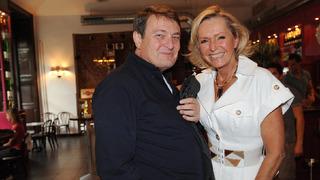 Ladislav Štaidl s kamarádkou Helenou Vondráčkovou