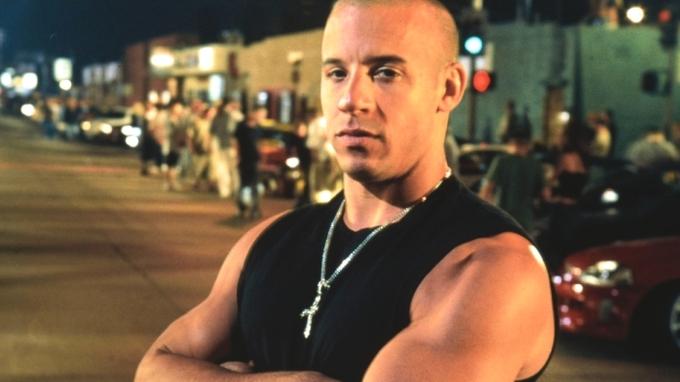 Vin Diesel je známý filmový tvrďák