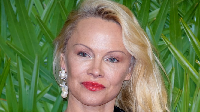 Herečka Pamela Anderson