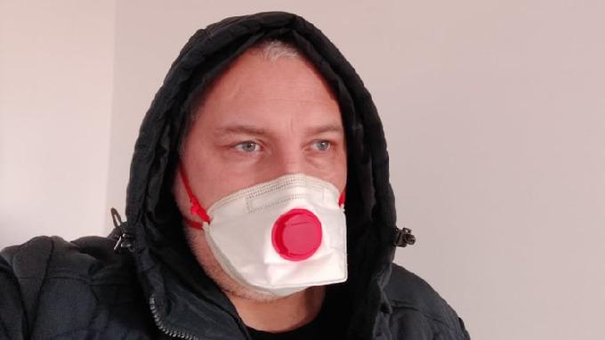 Ilustrační snímek – respirátor třídy FFP2