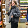 EXCLUSIVE: Lisa Marie Presley is spotted grocery shopping with her daughters in Los Angeles, CA.
