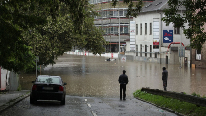 Meteorologové varují před povodněmi – Ilustrační snímek
