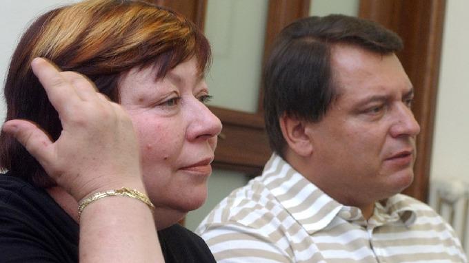 Zuzana Paroubková a Jiří Paroubek