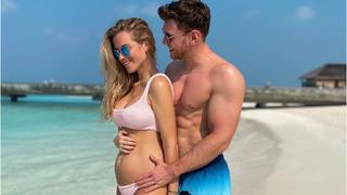 Těhotná Veronika Kopřivová s přítelem