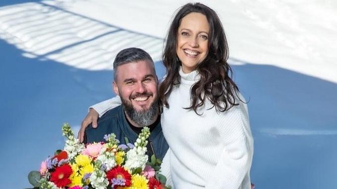 Radek Filipi s partnerkou Lucií Bílou