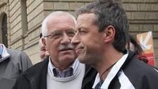 Pavel Bém a Václav Klaus