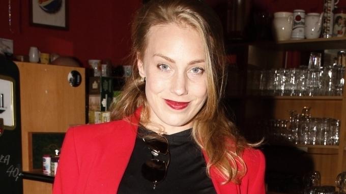 Herečka Aneta Krejčíková
