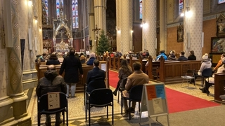 Zadušní mše za Ladislava Štaidla se zúčastnilo na 80 lidí