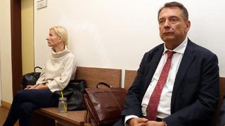 Petra Paroubková a Jiří Paroubek