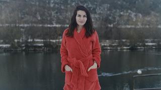 Moderátorka Eva Decastelo se pravidelně otužuje