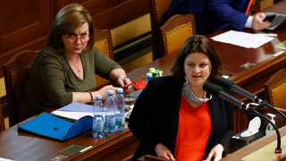 Ministryně Alena Schillerová a Jana Maláčová