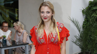 Herečka a zpěvačka Anna Slováčková