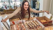Kamila Nývltová je zručná cukrářka