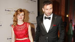 Gabriela Soukalová s exmanželem Petrem Koukalem