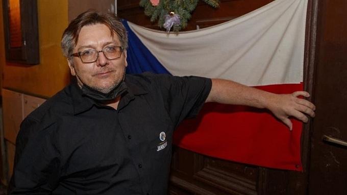 Majitel restaurace Jiří Janeček