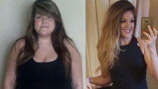 Melissa Bibeau shodila přes 44 kilogramů