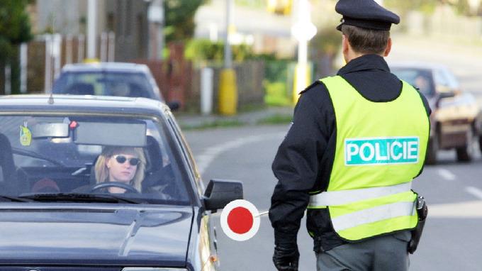 Silniční kontrola Policie ČR – Ilustrační snímek